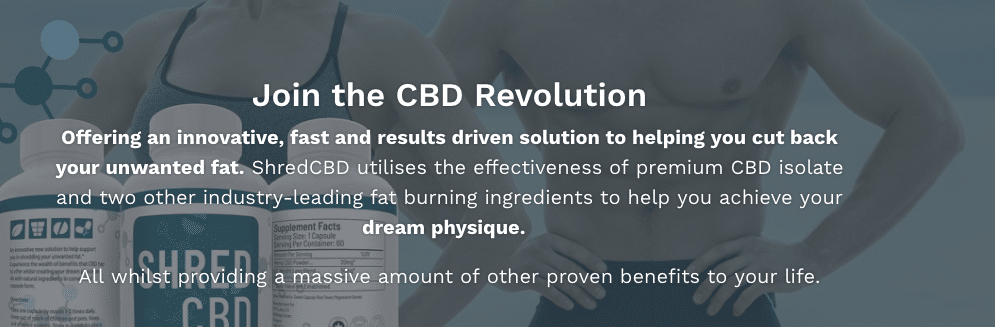 Shred CBD Home Page