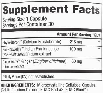 be flexible joint supplement ingredients